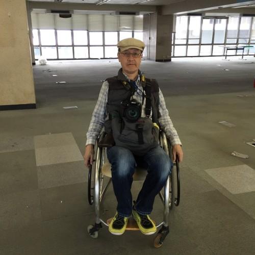 車椅子を体験